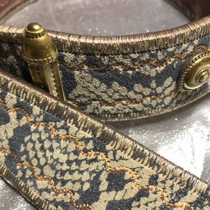 Anthropologie Accessories - Anthropologie Linea Pelle leather belt Sz M/32-27""